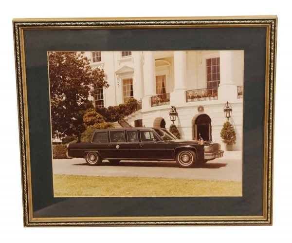 Photographs - Framed Original Photo of the White House Limo