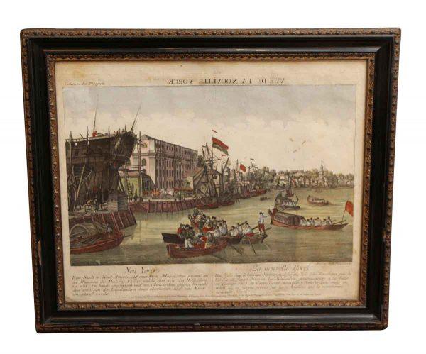 Prints  - Print of Vue de la Nouvelle Yorck