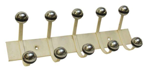 Racks - 1970s Nickel Atomic Ball Hook Rack