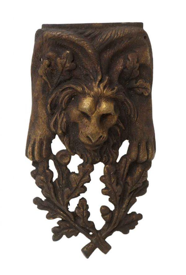 Applique - Antique Lion Head Furniture Applique