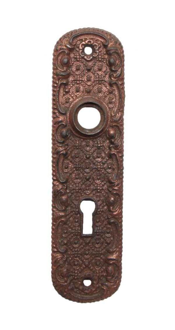 Back Plates - Cast Iron Keyhole Door Back Plate