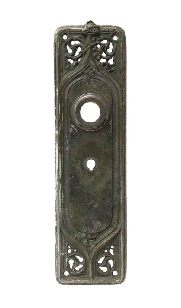 Back Plates - Sargent Nickel Plated Brass Door Back Plate
