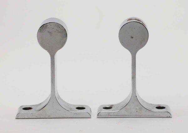 Bathroom - Pair of Vintage Chrome Plated Brass Brackets