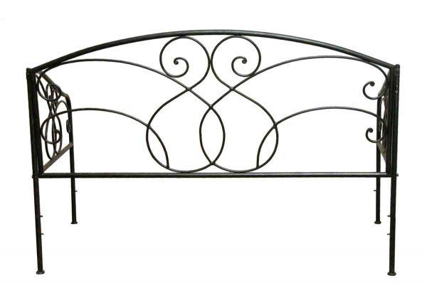 Bedroom - Black Day Bed Steel Frame