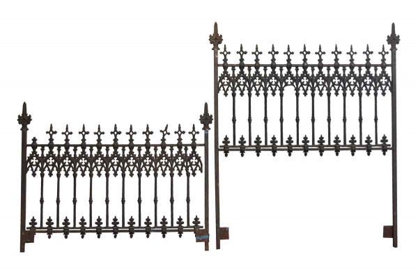 Bedroom - Cast Iron Gothic Queen Bed Frame Set
