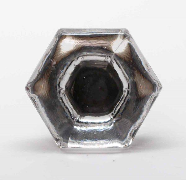 Cabinet & Furniture Knobs - Hexagon Glass Drawer Knob