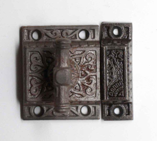Cabinet & Furniture Latches - Cast Iron High Profile Antique Cabinet Latch