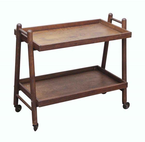 Carts - Imported Danish Wooden Bar Cart