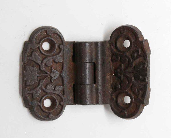 Ice Box Hardware - Antique Iron Ornate Ice Box Hinge