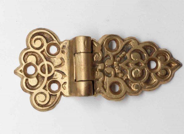 Ice Box Hardware - Brass Ice Box Decorative Hinge