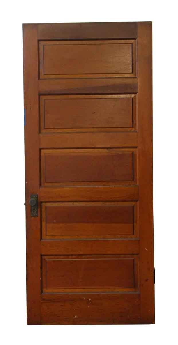 Salvaged Wooden 5 Panel Door Olde