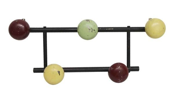 Racks - European 1960s Colorful Hook Rack