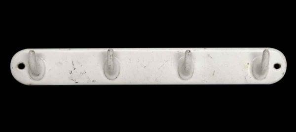 Racks - European White Cast Iron 4 Hook Rack