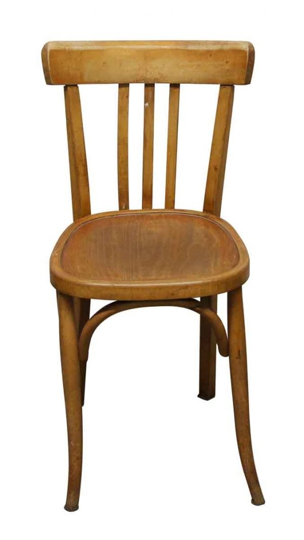 Seating - Imported Light Wood Tone Bistro Chair