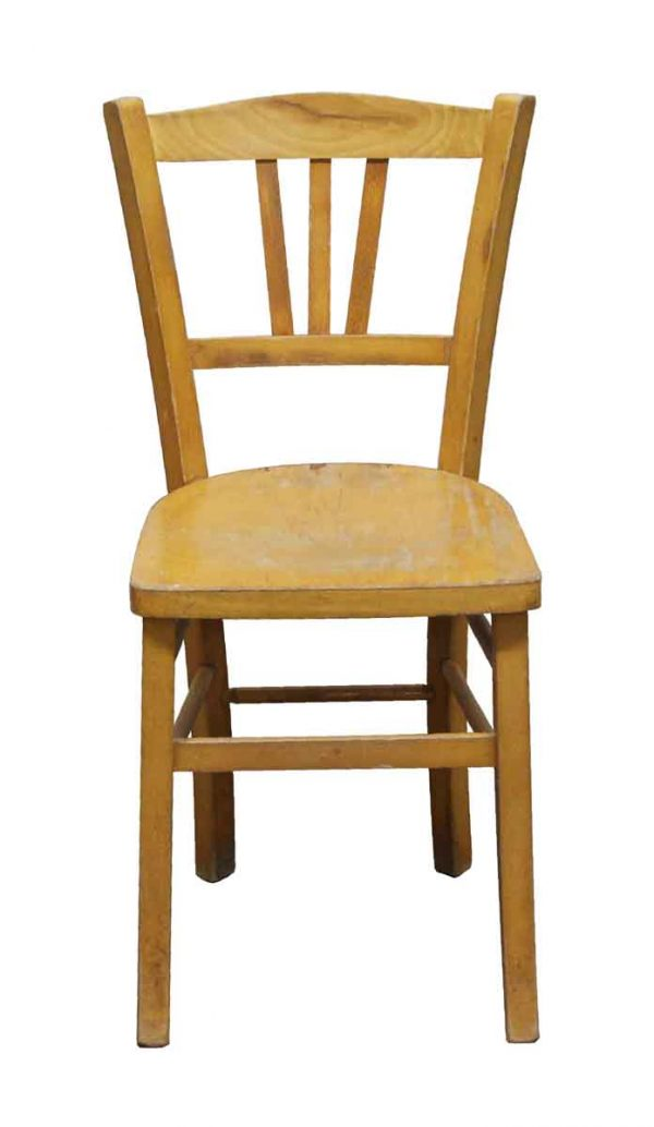 Seating - Imported Vintage Wood Bistro Chair