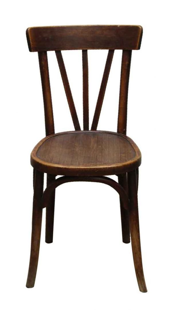 Seating - Imported Vintage Wooden Bistro Chair