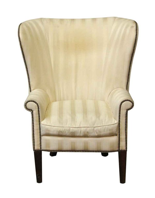 Seating - Single Wing Back Striped Chair