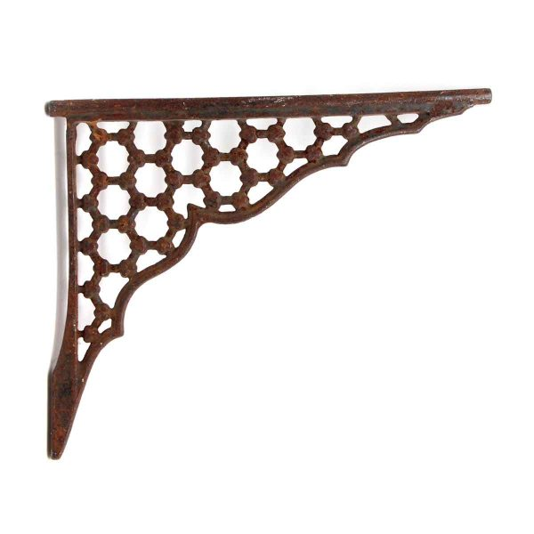 Shelf & Sign Brackets - Antique Cast Iron Bracket