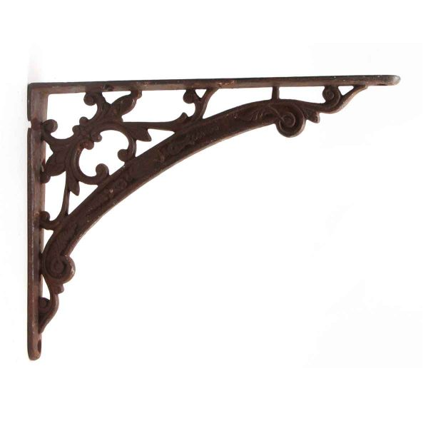 Shelf & Sign Brackets - Ornate Iron Bracket
