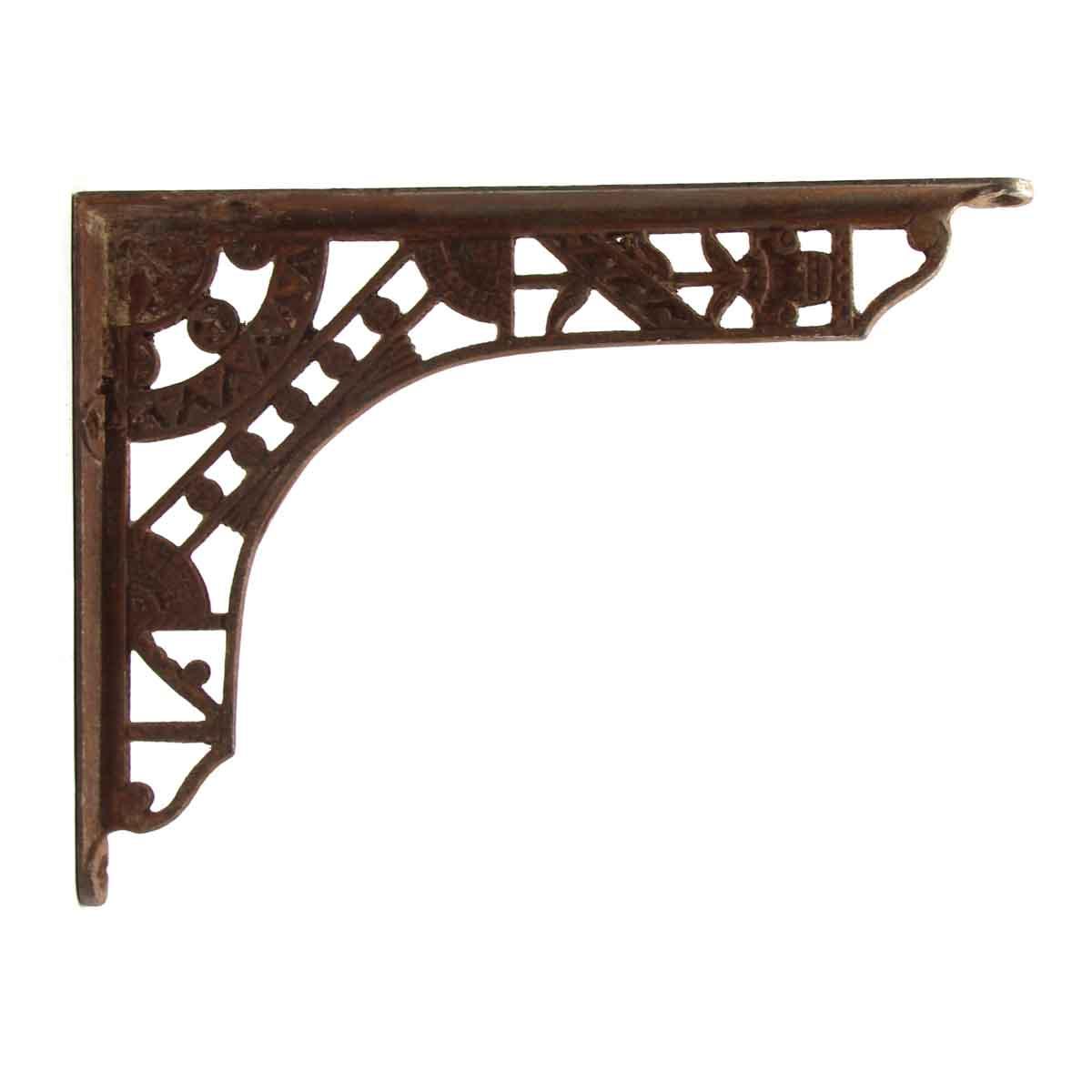Ornate Shelf Bracket Made Of Cast Iron