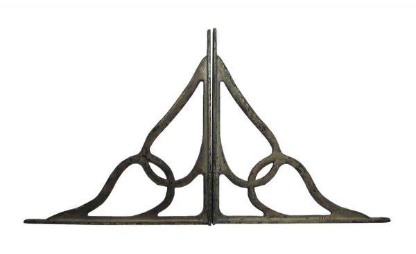 Shelf & Sign Brackets - Pair of Old Iron Brackets