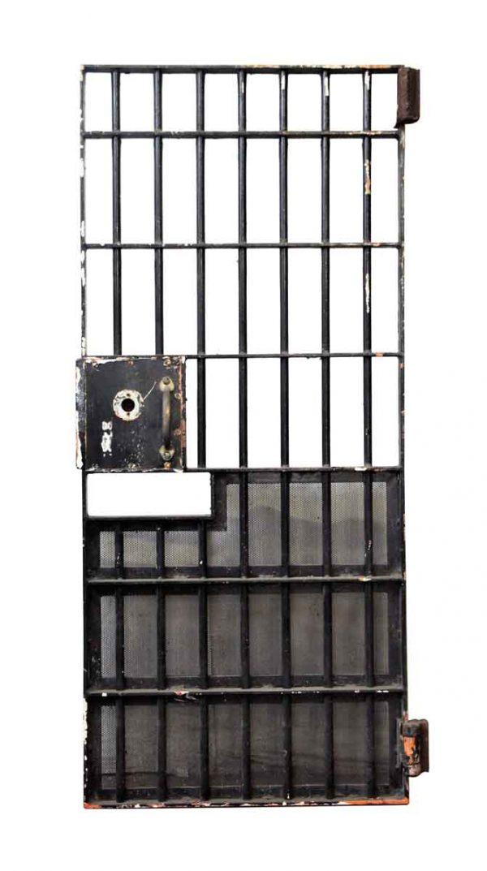Specialty Doors - Black Industrial Barred Door
