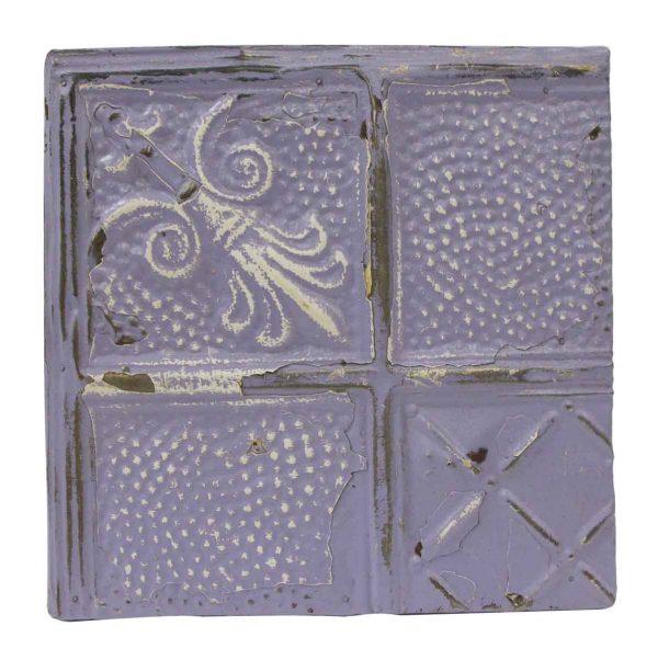 Tin Panels - Lilac Decorative Antique Tin Panel