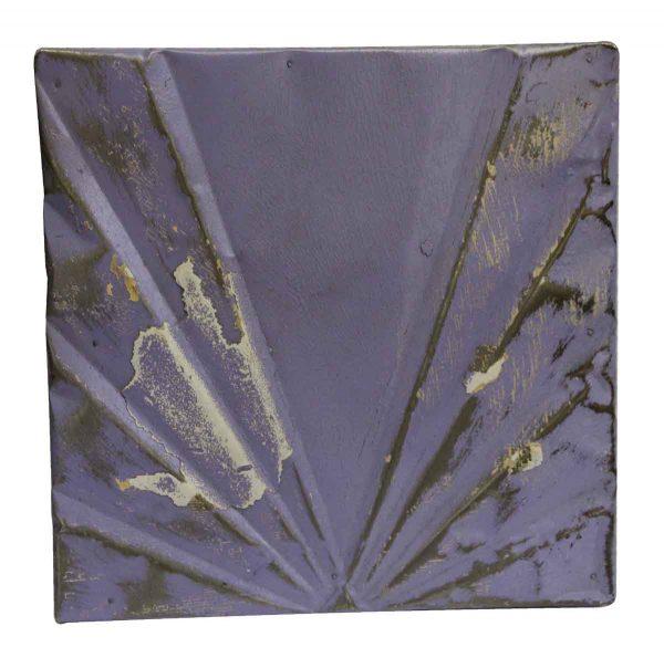 Tin Panels - Purple Deco Antique Tin Panel
