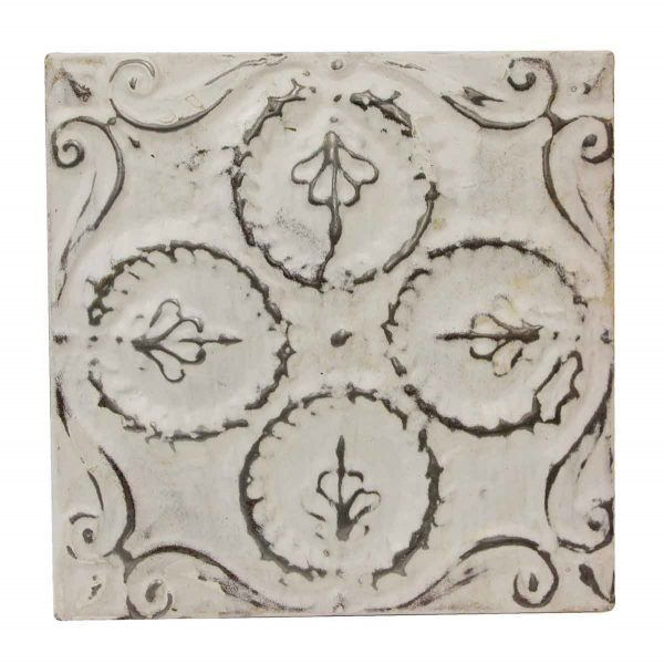 Tin Panels - Quadrant White Antique Tin Panel