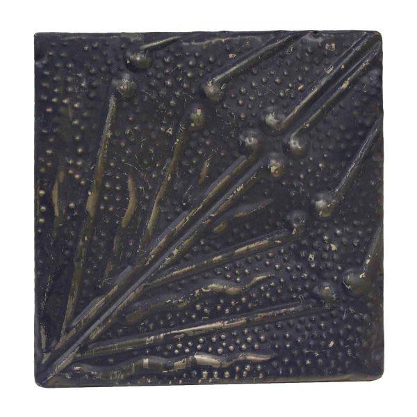 Tin Panels - Royal Blue & Gray Vines Tin Panel