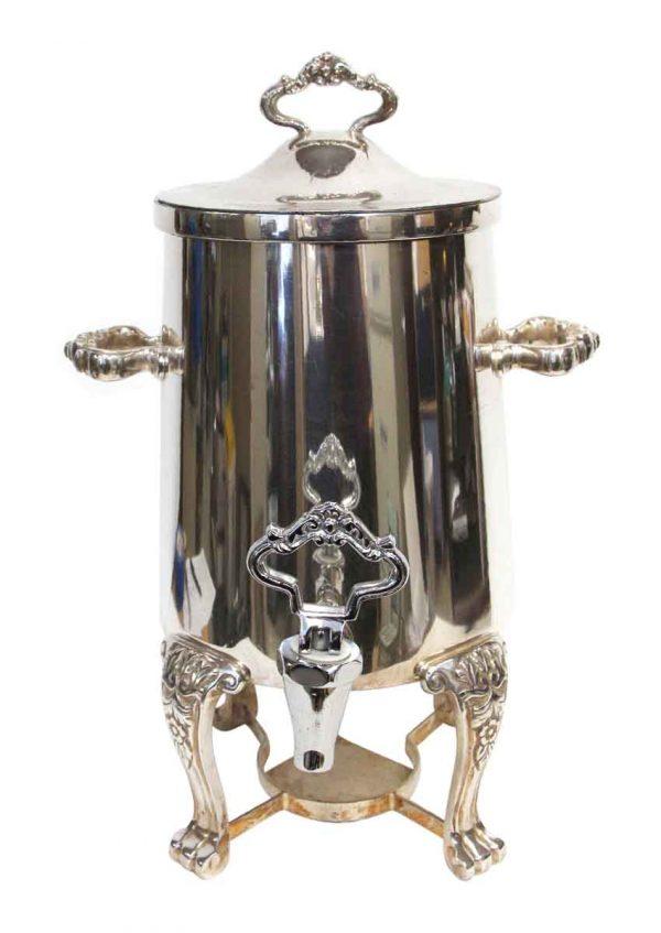 Waldorf Astoria - 1.5 Gallon Silver Plated Waldorf Astoria Fancy Urn