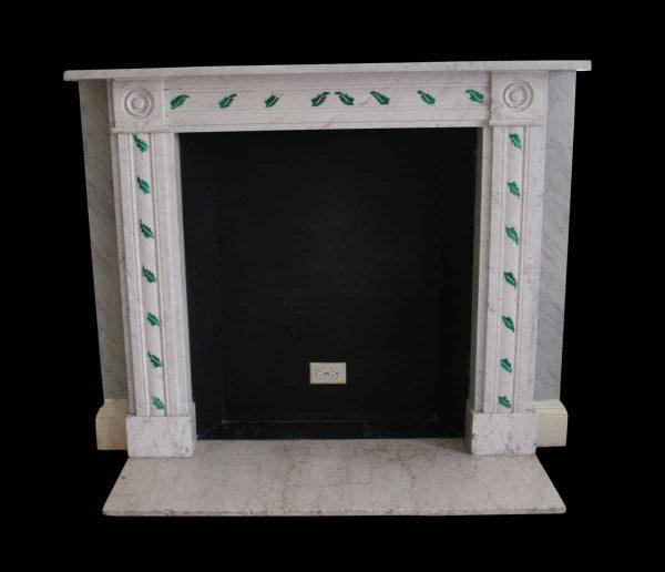Waldorf Astoria - Waldorf Astoria English Regency Statuary Marble Mantel