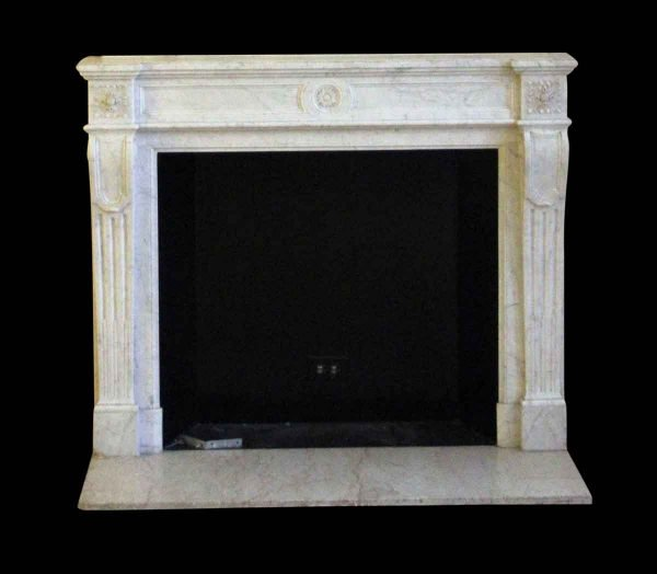 Waldorf Astoria - Waldorf Astoria French Regency Carrara Marble Mantel