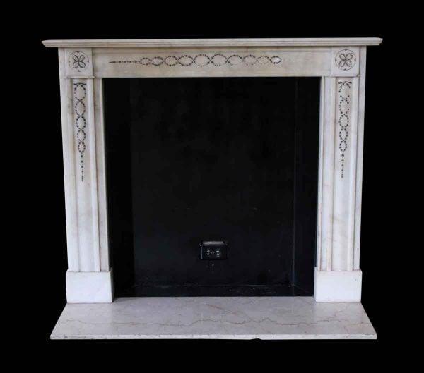 Waldorf Astoria - Waldorf Astoria Petite Regency White Marble Mantel