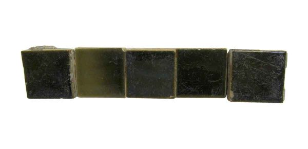 Wall Tiles - Antique 1.5 Square Dark Green Tiles