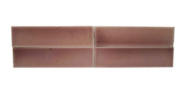 Wall Tiles - Antique Light 4.25 in. Pink Hearth Tiles