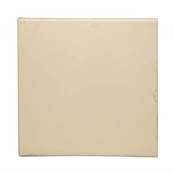 Wall Tiles - Vintage 6 in. Square Off White Clay Tile