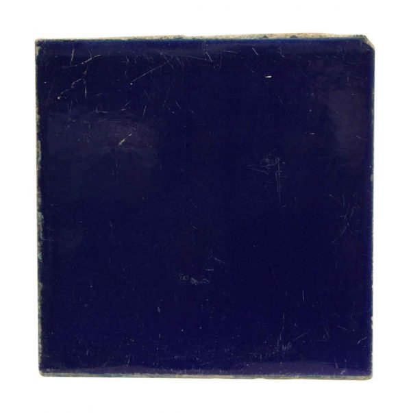 Wall Tiles - Vintage Deep Blue 8 in. Square Tile