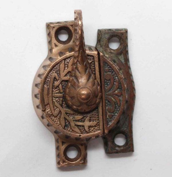 Window Hardware - Bronze Aesthetic Window Lock