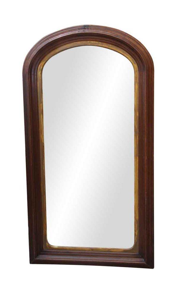 Antique Mirrors - 19th Century Walnut Mirror