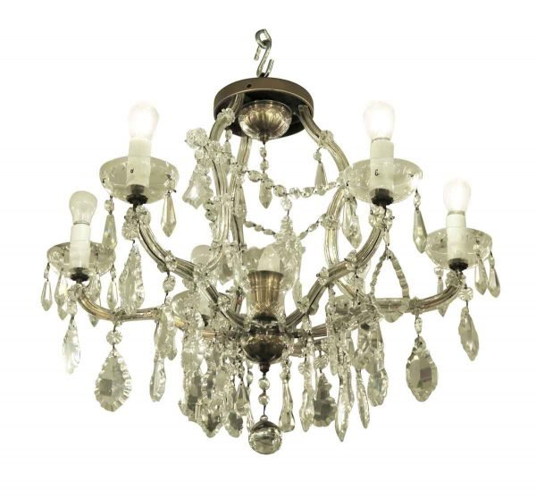 Chandeliers - Seven Light Marie Therese Chandelier