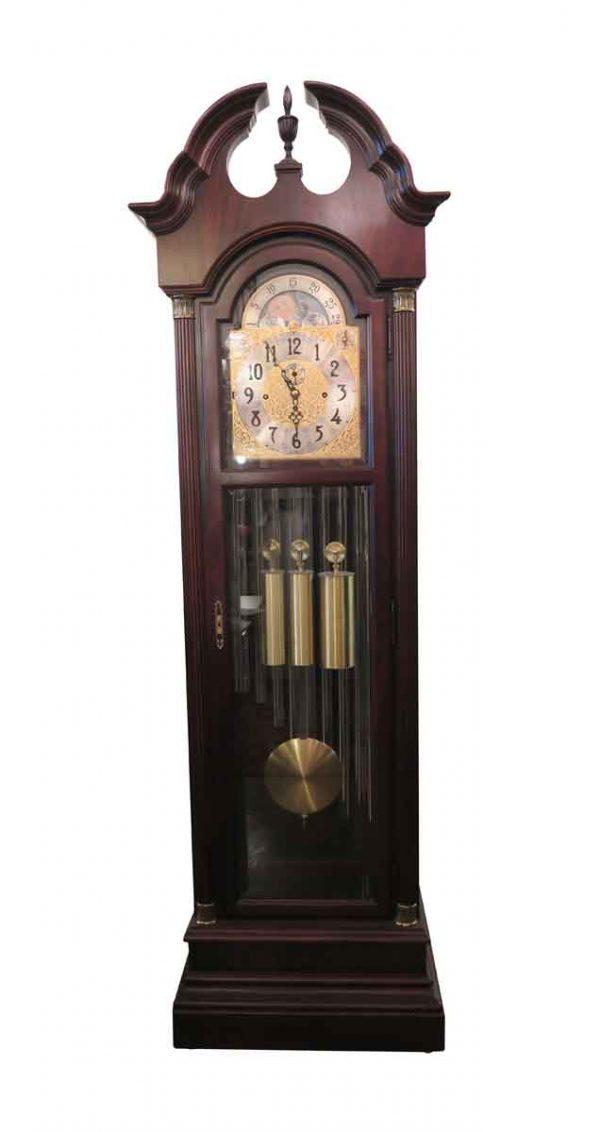 Clocks  - Mahogany Herschede Grandfather Clock