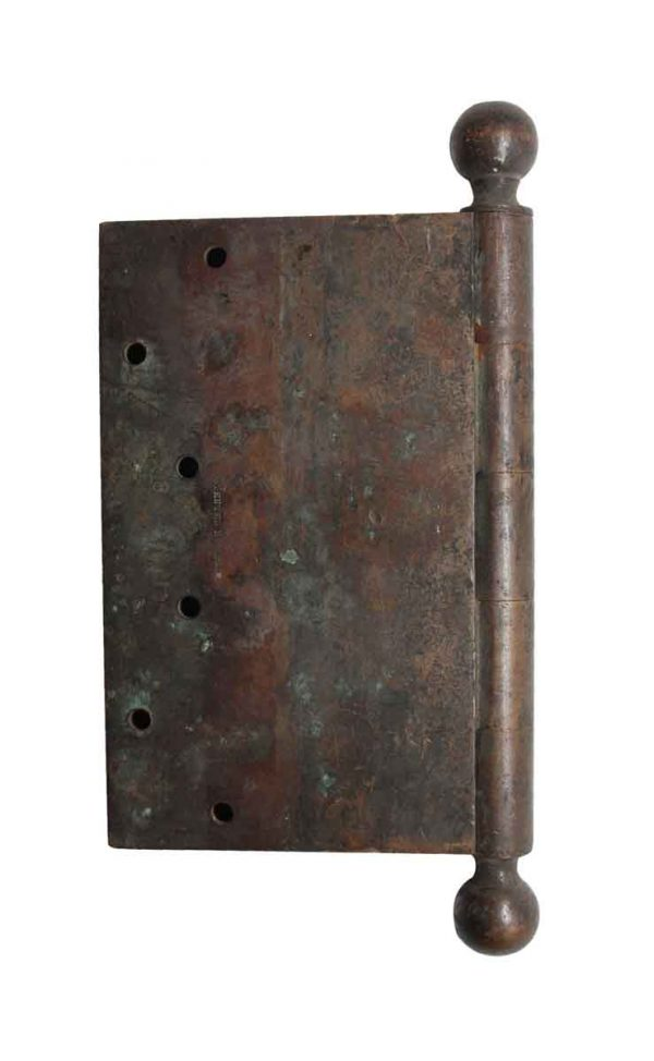 Door Hinges - 10 in. Cast Bronze Ball Tip Hinge