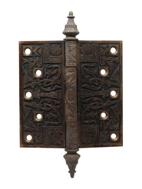 Door Hinges - 5 x 5 Antique Patina Bronze Door Hinge