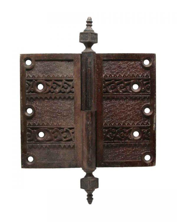 Door Hinges - Antique Bronze Decorative Door Hinge