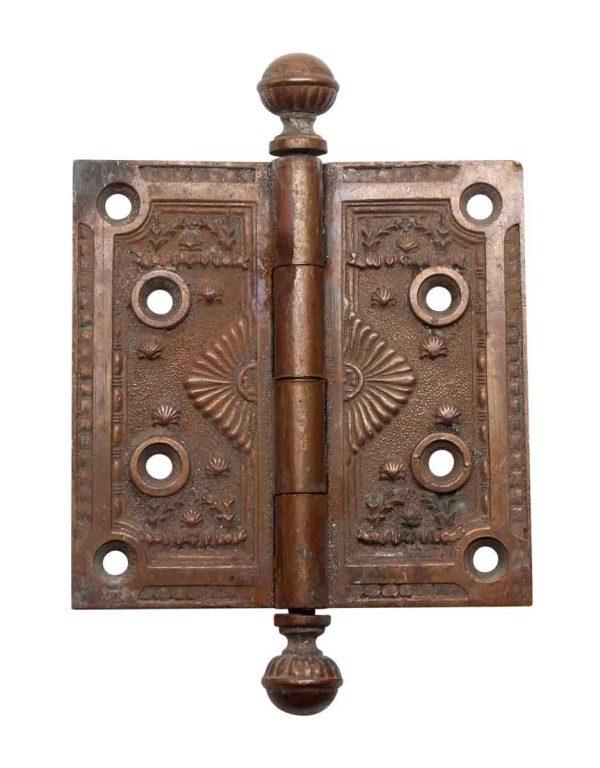 Door Hinges - Decorative Bronze Ball Tip Door Hinge