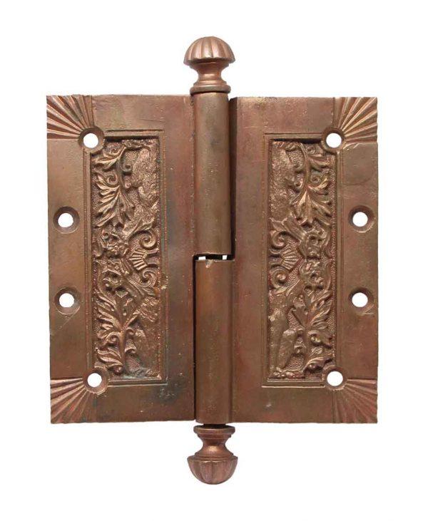 Door Hinges - Rare Bronze Fanciful Beast Door Hinge