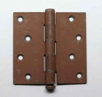 Merveilleux Steel Matte Gray 4 X 4 Door Hinge