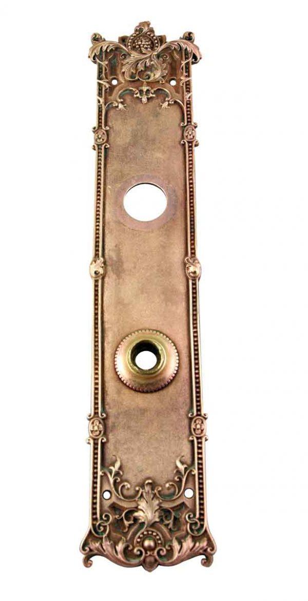 Door Knob Sets - Antique Italian Renaissance Russell & Erwin Door Back Plate