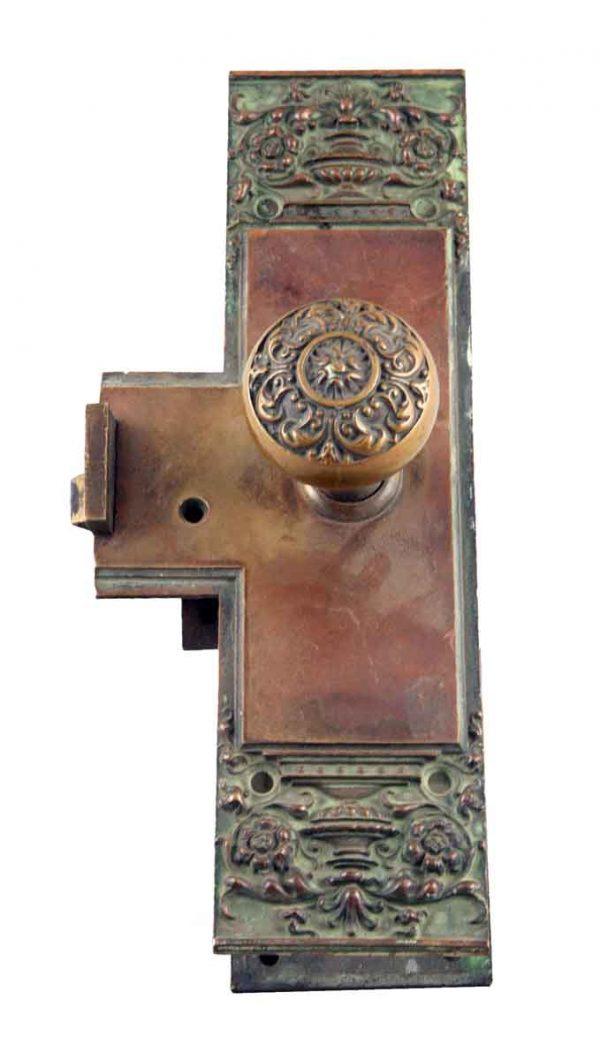 Door Knob Sets - Ornate Bronze Corbin Lucca Entry Door Knob Set